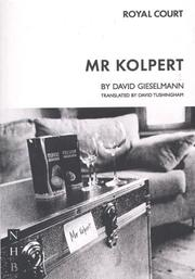 Cover of: Mr. Kolpert | David Gieselmann