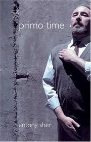 Cover of: Primo Time | Antony Sher