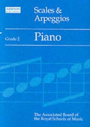 Cover of: Scales and Arpeggios