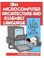 IBM Microcomputer Architecture and Assembly Language by Norman S. Matloff