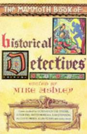 Cover of: The Mammoth Book of Historical Detectives