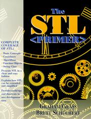 Cover of: STL <Primer>, The | Graham Glass