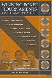 Cover of: Winning Poker Tournaments One Hand at a Time Volume III