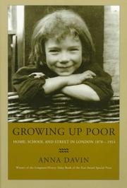 Cover of: Growing Up Poor | Anna Davin