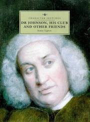 Cover of: Dr Johnson, his club and other friends