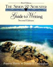 Cover of: The Simon & Schuster guide to writing
