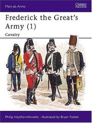 Cover of: Frederick the Great's Army (1): Cavalry