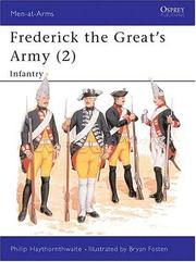Cover of: Frederick the Great's Army (2): Infantry