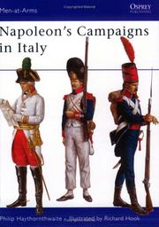 Cover of: Napoleon's Campaigns in Italy