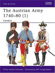 Cover of: The Austrian Army 1740-80 (1): Cavalry