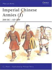 Cover of: Imperial Chinese Armies  | C.J. Peers