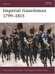 Cover of: Imperial Guardsman 1799-1815 (Warrior)