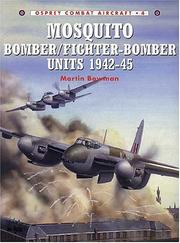 Cover of: Mosquito bomber/fighter-bomber units of World War 2