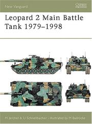 Cover of: Leopard 2 Main Battle Tank 1979-98 | Michael Jerchel