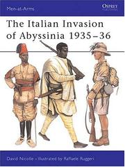 Cover of: The Italian Invasion of Abyssinia 1935-36