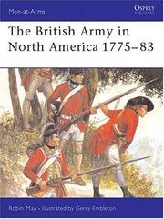 Cover of: The British Army in North America 1775-1783