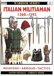 Cover of: Italian Militiaman 1260-1392 (Warrior)