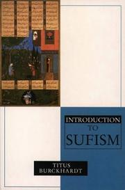 Cover of: An Introduction to Sufism