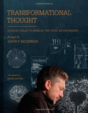 Cover of: Transformational Thought