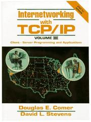 Internetworking with TCP/IP by Douglas E. Comer