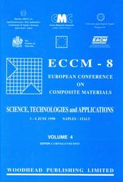 Cover of: ECCM 8 | I. Crivelli Visconti