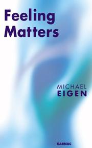 Cover of: Feeling Matters