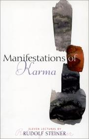 Cover of: Manifestations of Karma