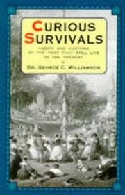 Cover of: Curious Survivals