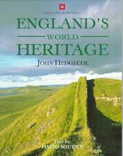 Cover of: England's World Heritage (English Heritage)
