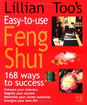 Cover of: Lillian Too's easy-to-use Feng Shui