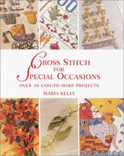 Cover of: Cross stitch for special occasions