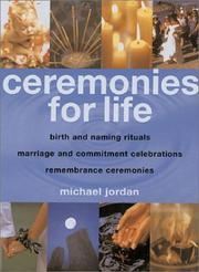 Cover of: Ceremonies for life