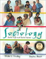 Cover of: Sociology | Linda L. Lindsey, Stephen Beach