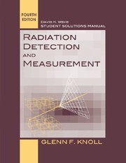 Cover of: Radiation Detection and Measurement 4e SSM