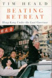 Cover of: BEATING RETREAT | Tim Heald