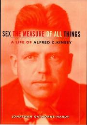 Cover of: Alfred C. Kinsey