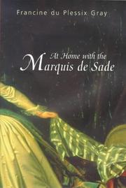 Cover of: At Home with the Marquis de Sade |