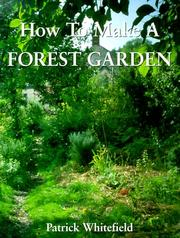 Cover of: How to Make a Forest Garden | Patrick Whitefield