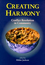 Cover of: Creating harmony |