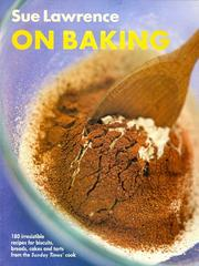 Cover of: On baking
