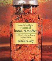 Cover of: Essential Guide to Natural Home Remedies