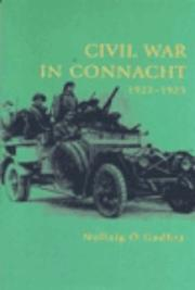 Cover of: Civil war in Connacht, 1922-23