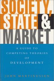 Cover of: Society, state, and market