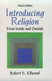 Cover of: Introducing religion: from inside and outside