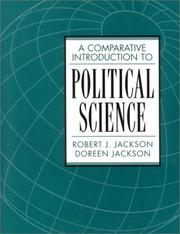Cover of: A comparative introduction to political science