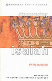 Cover of: Discovering Isaiah (Crossway Bible Guides)