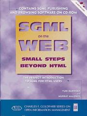 Cover of: SGML on the Web | Yuri Rubinsky