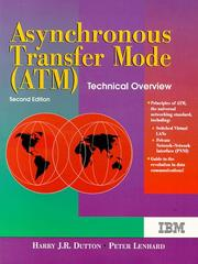 Cover of: Asynchronous transfer mode (ATM)