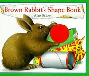 Cover of: Brown Rabbit's shape book