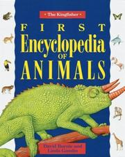 Cover of: The Kingfisher first encyclopedia of animals
